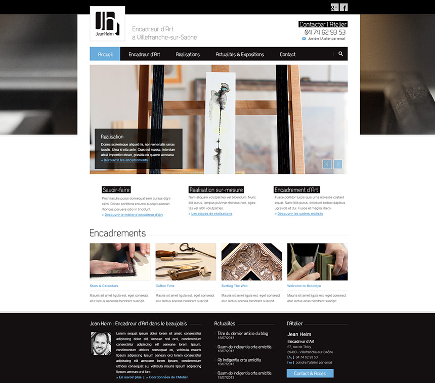 Design Site Web