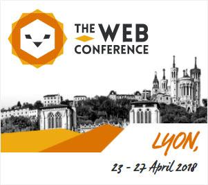 The Web Conference 2018 - Lyon