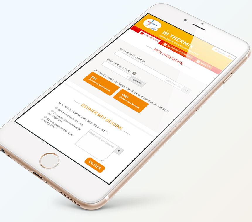 Design Application - UX UI Lyon